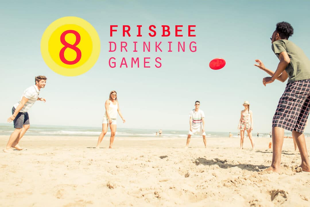Tic-Tac-Toss Frisbee Drinking Game 3