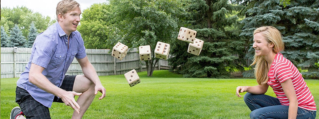 Giant Yahtzee or Giant Dice Games to play Outdoors