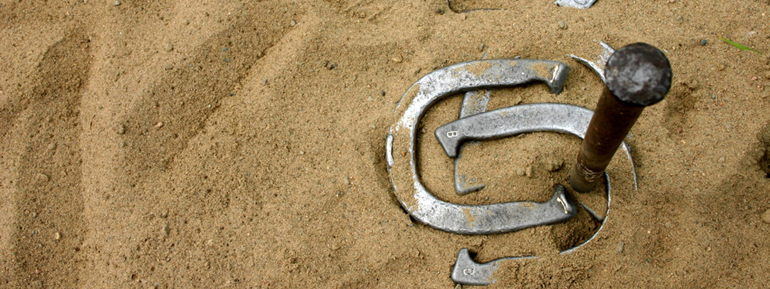 Horseshoes | Ultimate 63 Outdoor Games List