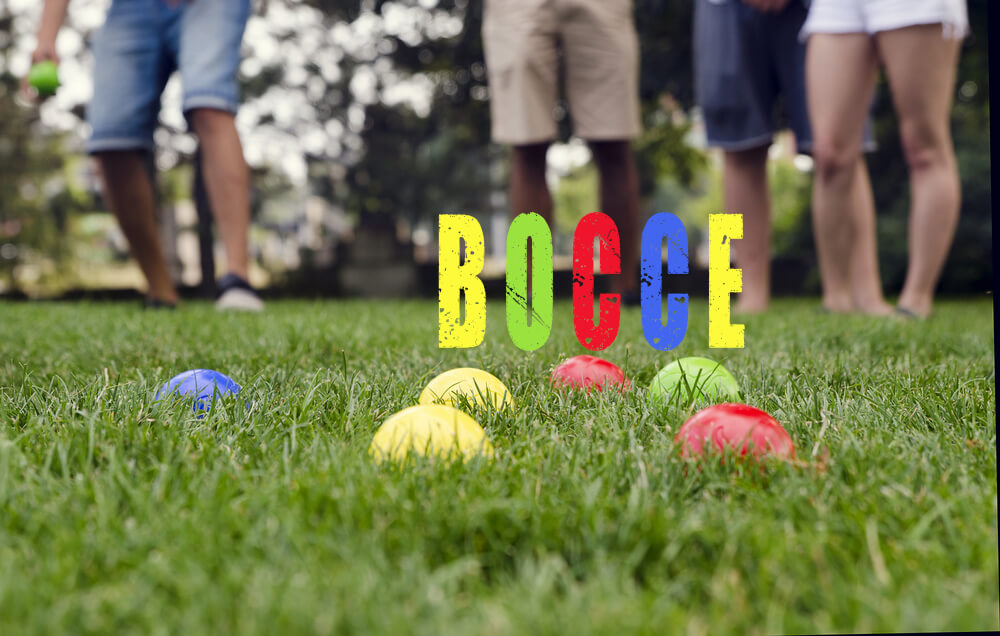 Playing Bocce in your Backyard | Backyard Games