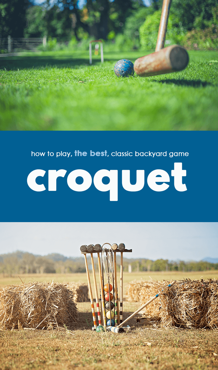 How to Play Croquet Lawn Game and Unofficial Drinking Game Rules 1