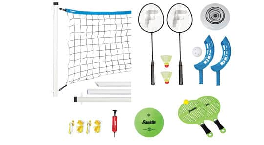 Outdoor Game Combo Sets including 3-in-1 and 4-in-1's 4