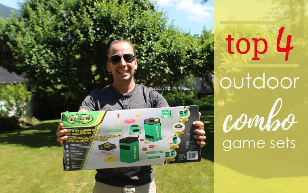 Outdoor Game Combo Sets including 3-in-1 and 4-in-1's
