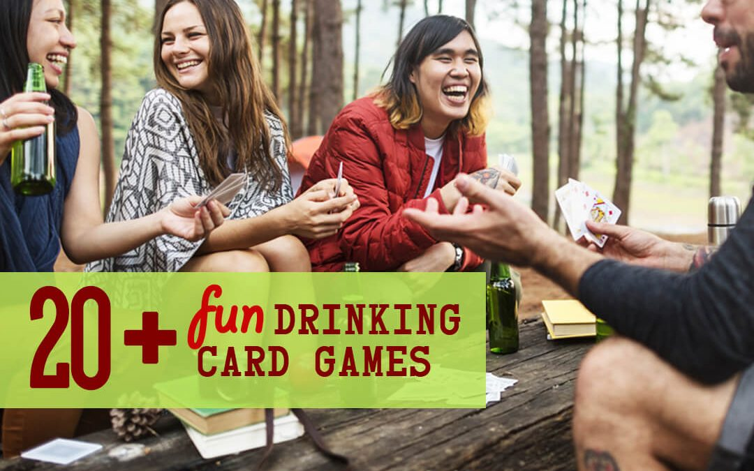 20+ Fun Drinking Card Games For Adults