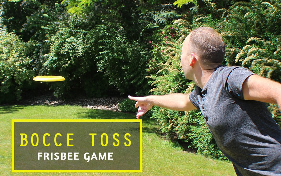 Bocce Toss Frisbee Game