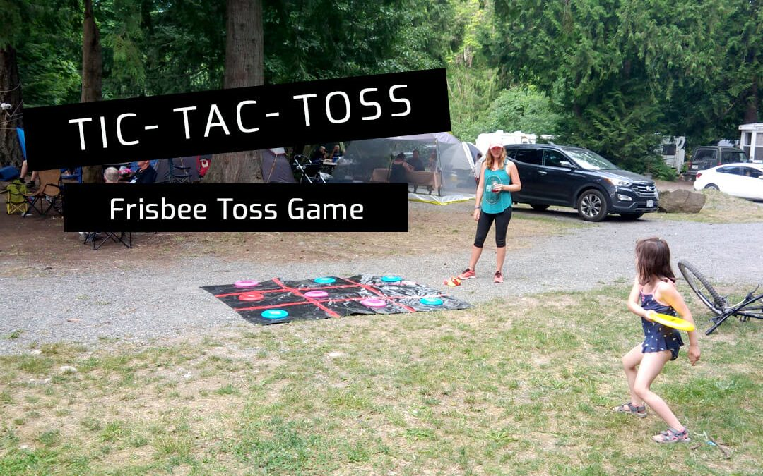 How to Play Tic Tac Toss Frisbee Game with DIY Instructions