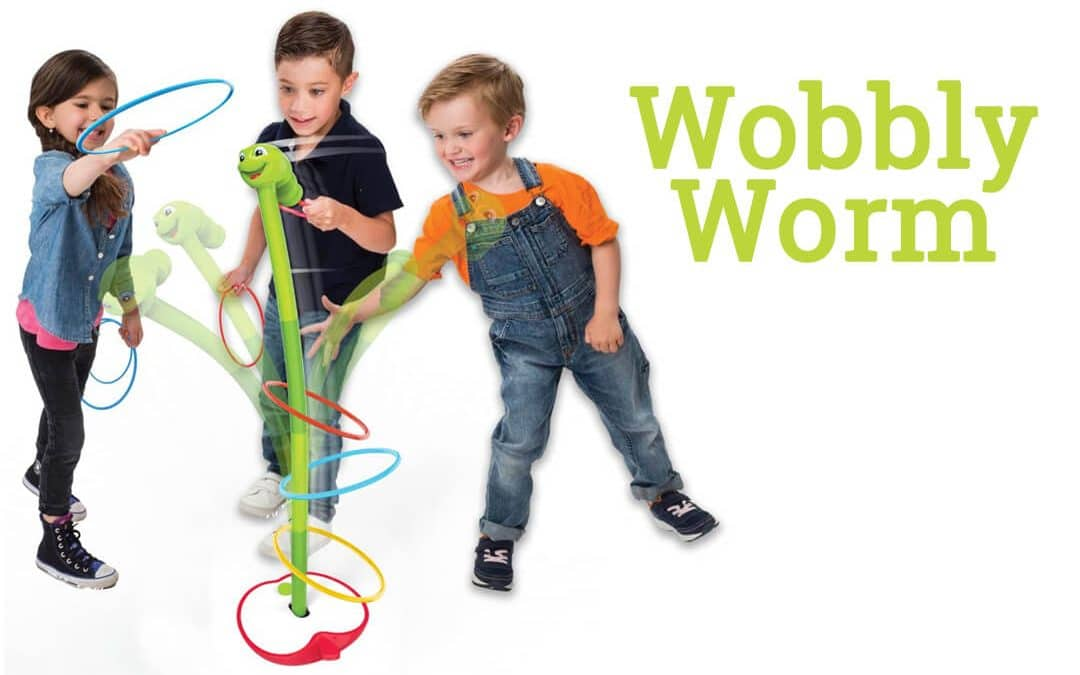 Wobbly Worm | Outdoor game for kids