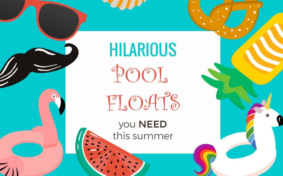 20+ awesome Swimming Pool Floats you HAVE to have this Summer!