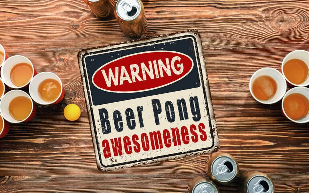 15+ Awesome Beer Pong Tables, Racks, and Accessories