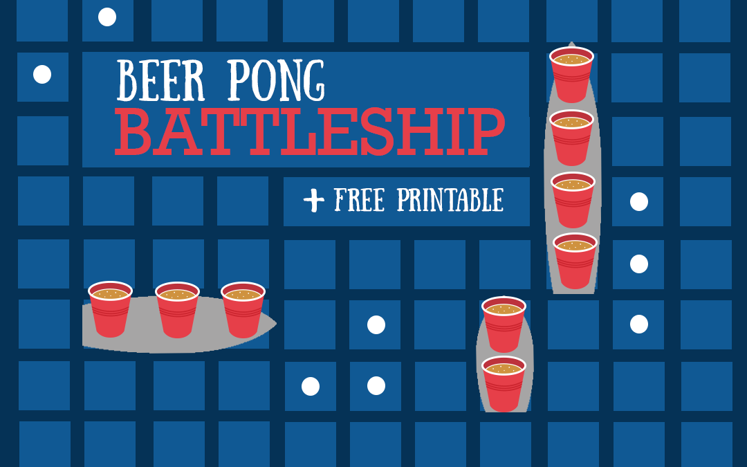 How to Play Battleship Beer Pong AKA Battle Shots
