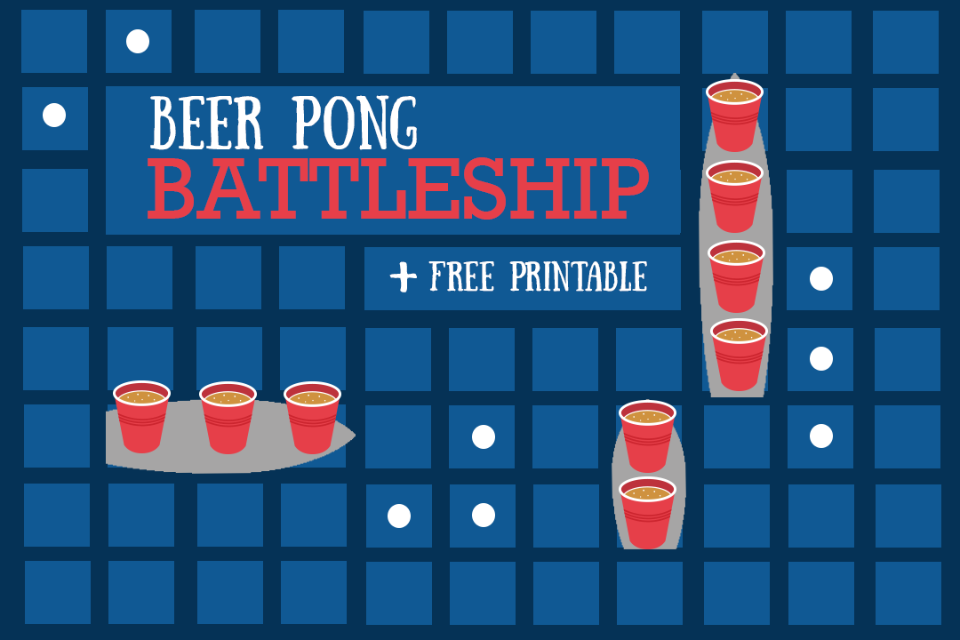 DIY Drinking Game: Beer Battleship