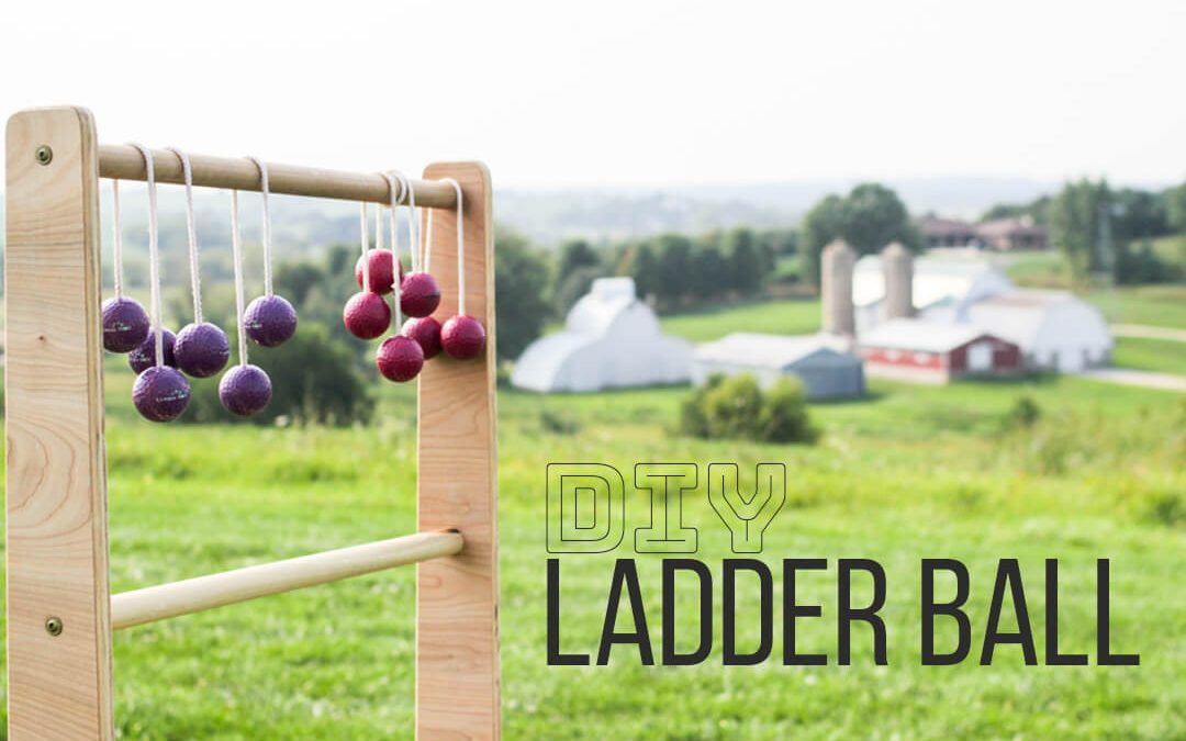DIY Ladder Ball: How to Make Ladder Golf from Wood OR PVC