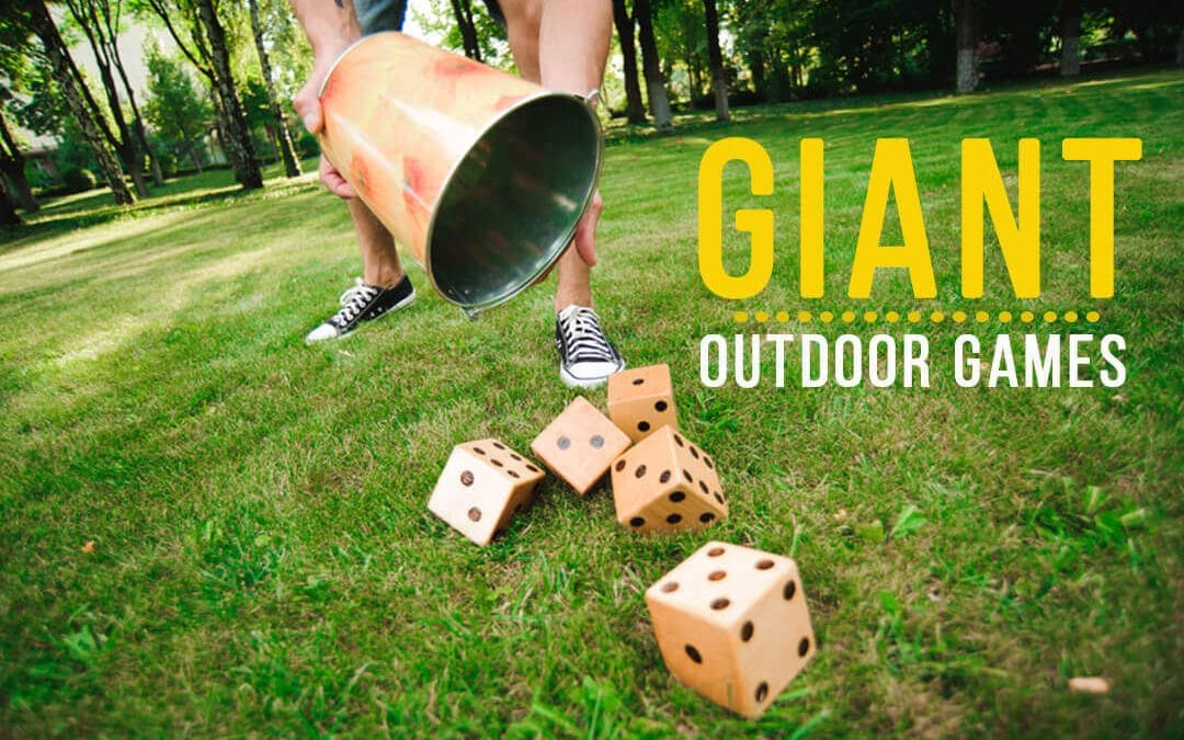 The best Giant Outdoor Games, Go Big or Go Home!
