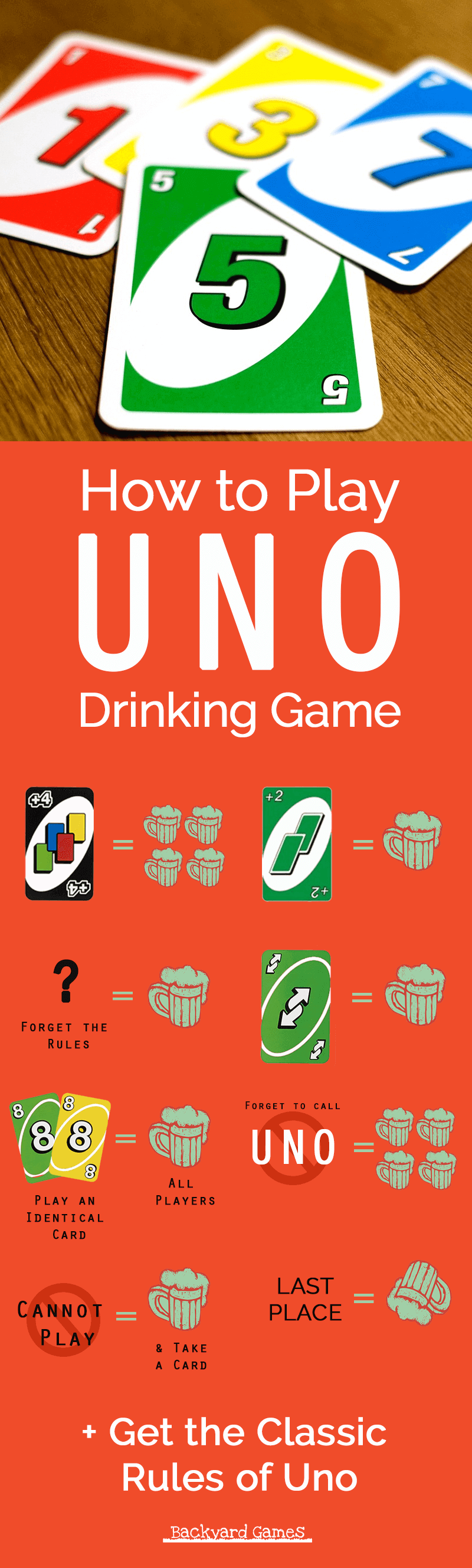 How to Play Uno Drinking Game