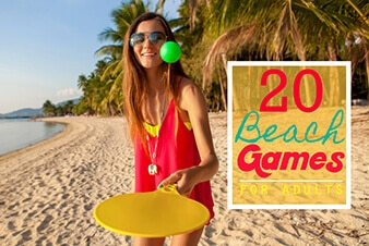 Beach Games for Adults | The best games to play at the beach for adults