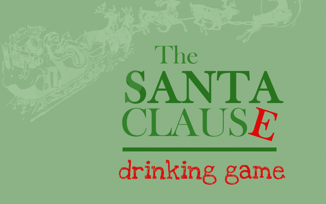 Santa Clause Drinking Game | Christmas Movie Party Game