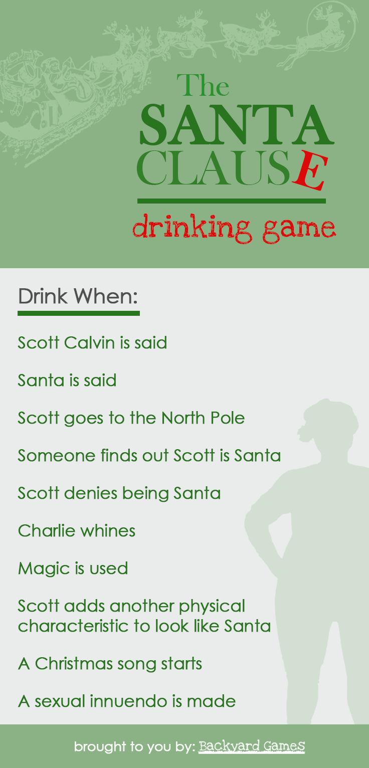 Santa Claus Drinking Game