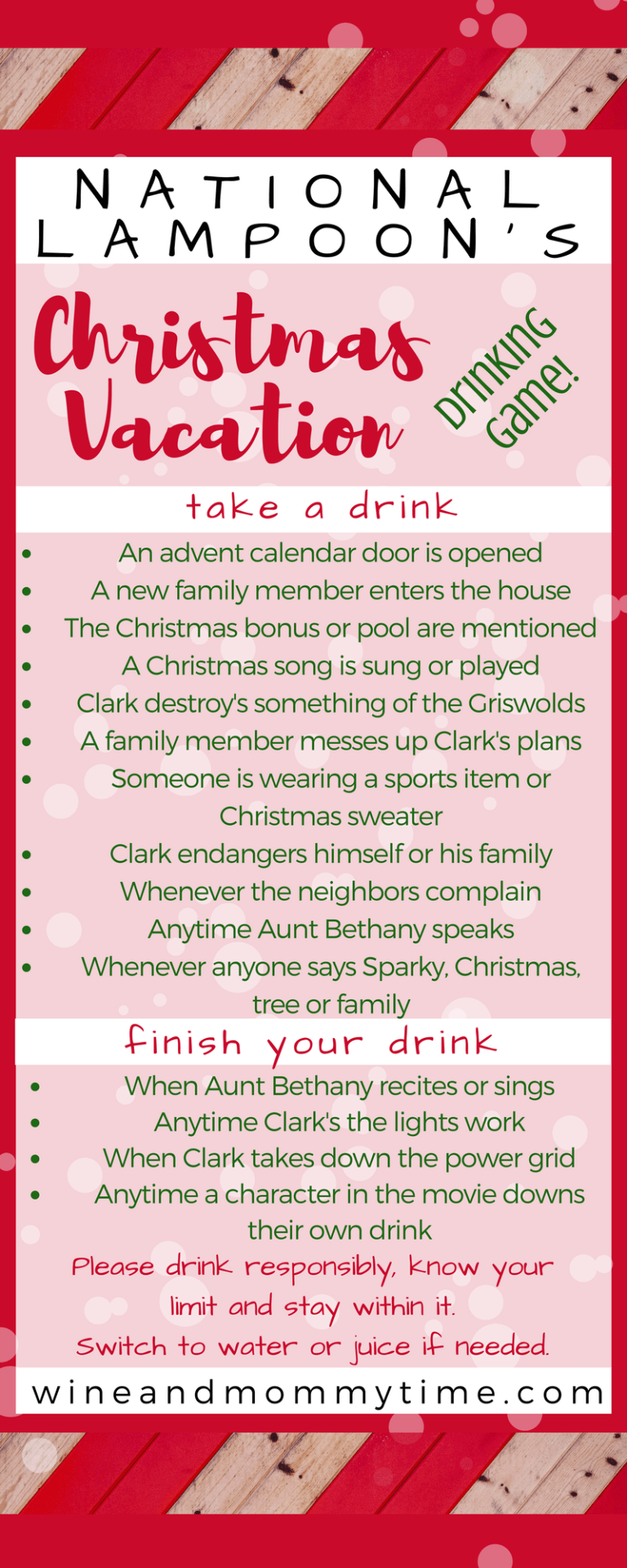 10 Favorite Christmas Movie Drinking Games 2