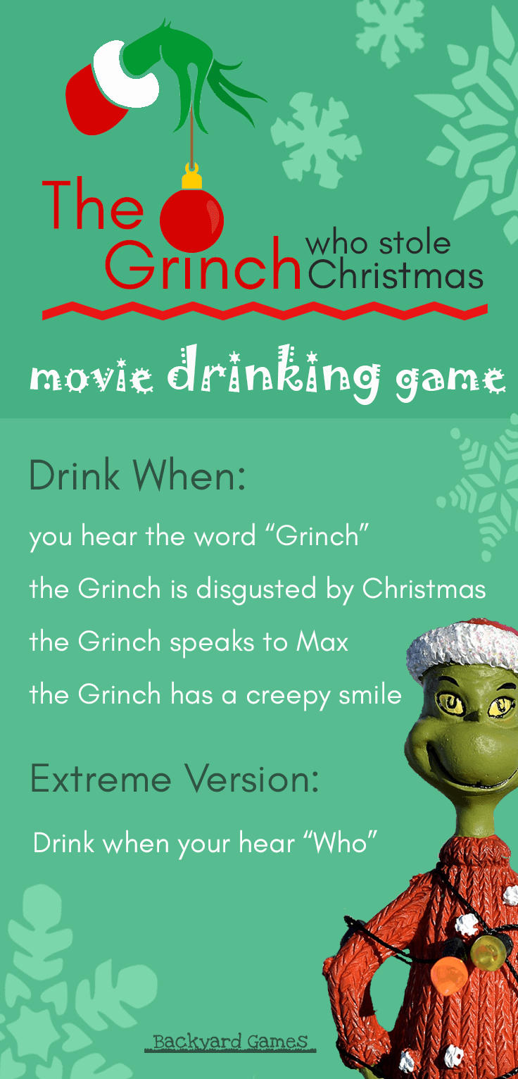 The Grinch Drinking Game | Christmas Movie Party Games 1