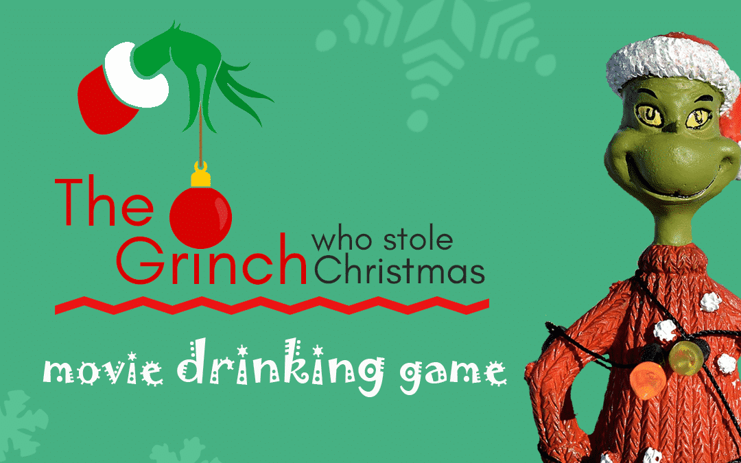 The Grinch Drinking Game | Christmas Movie Party Games