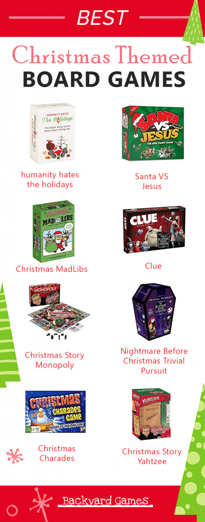 Best Christmas Themed Board Games