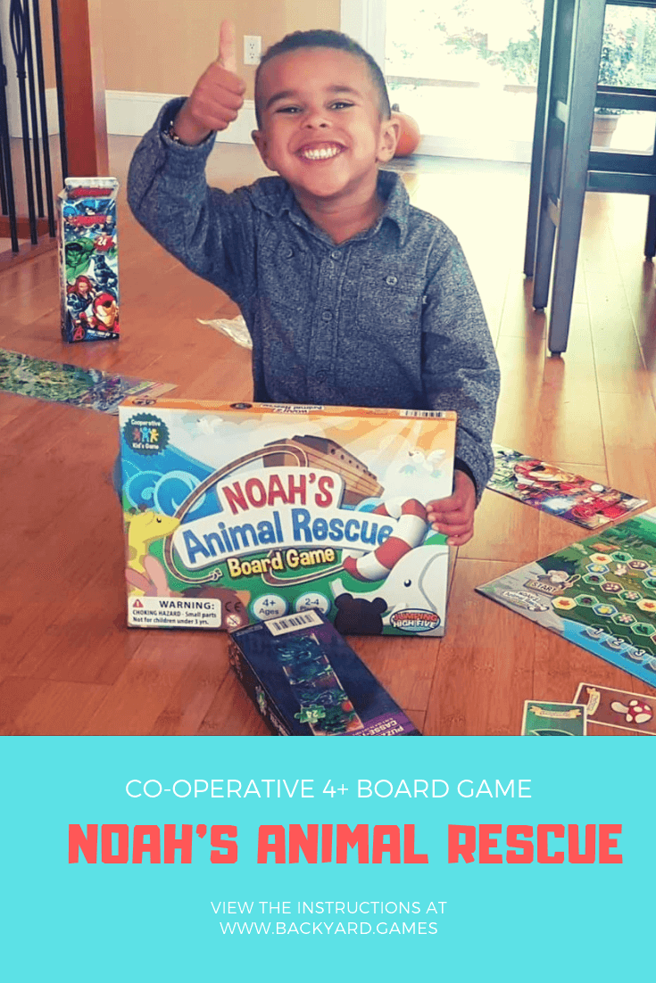 Cooperative Kids Board Game | Noahs Animal Rescue