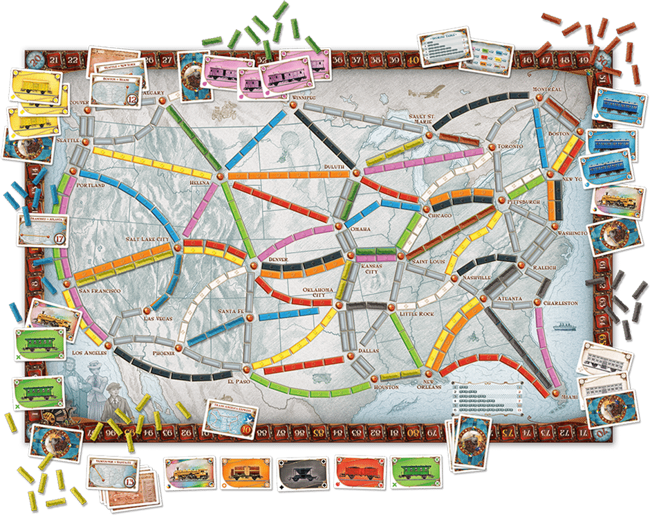 How To Play Ticket To Ride 3