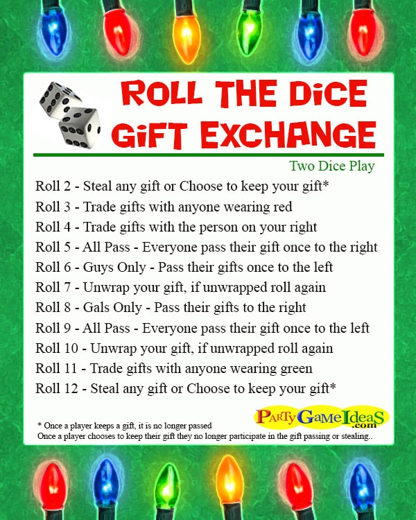 5 Christmas Games for Gift Exchange for All Ages 1