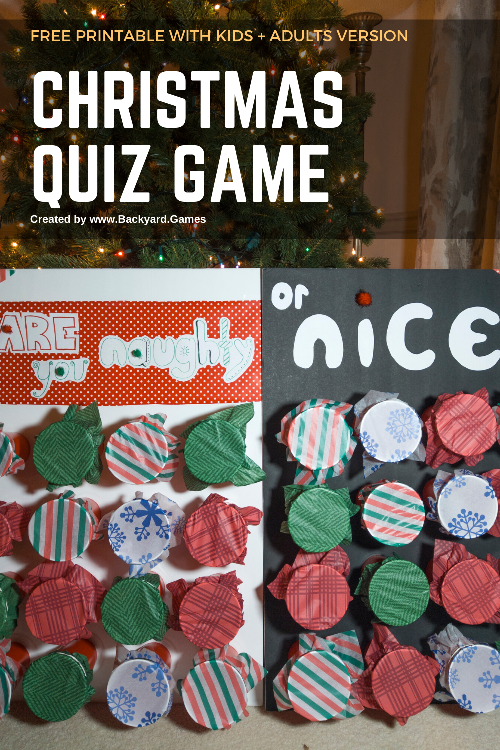 Naughty or Nice Quiz Christmas Game