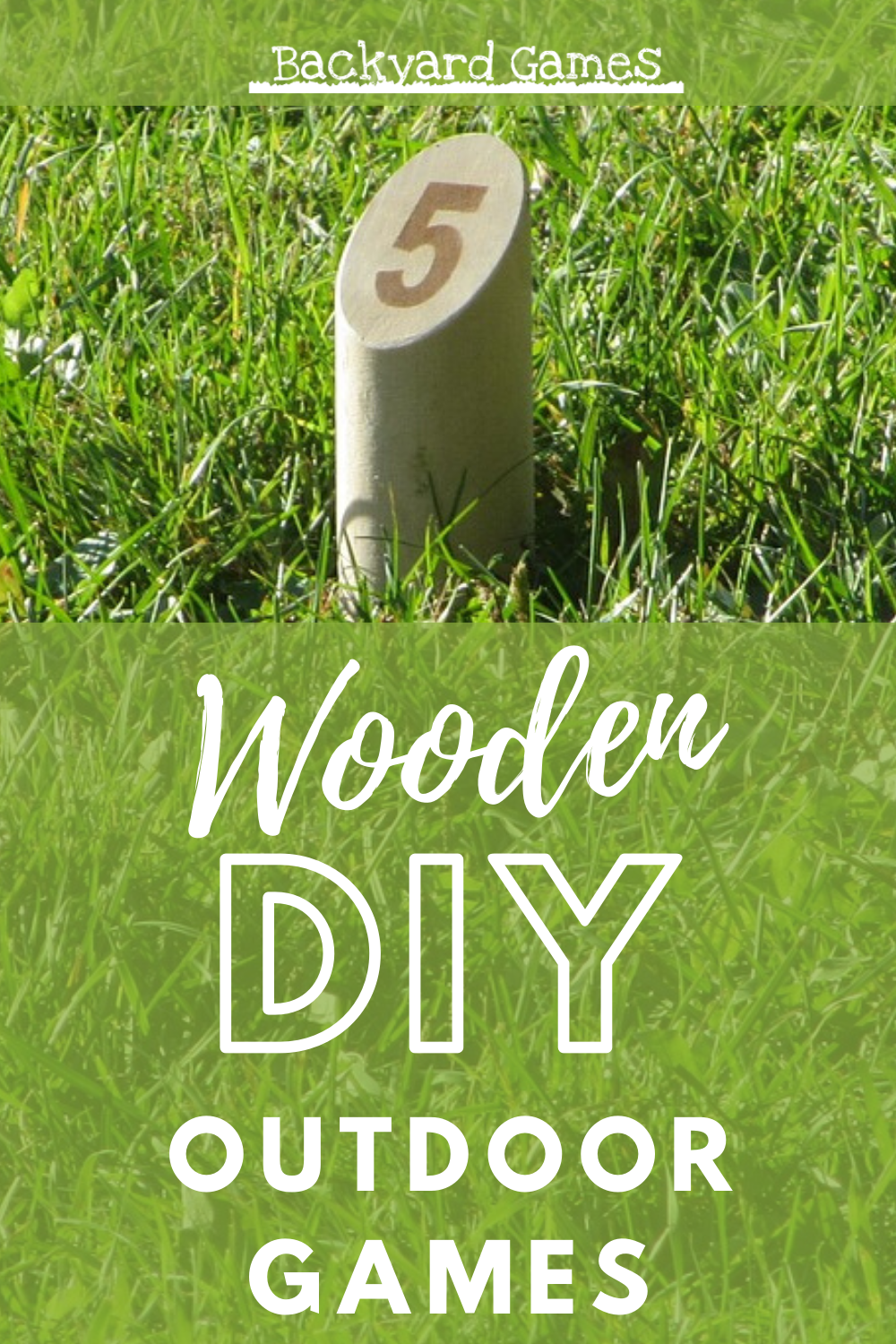 5 Easy to Build DIY Outdoor Games 1