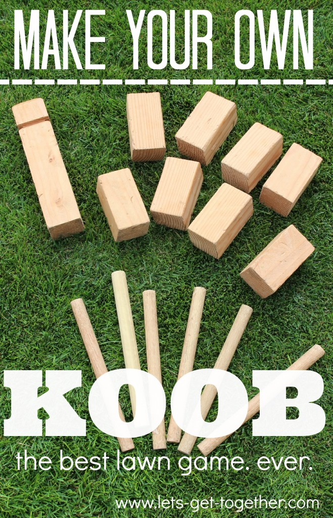 5 Easy to Build DIY Outdoor Games 2